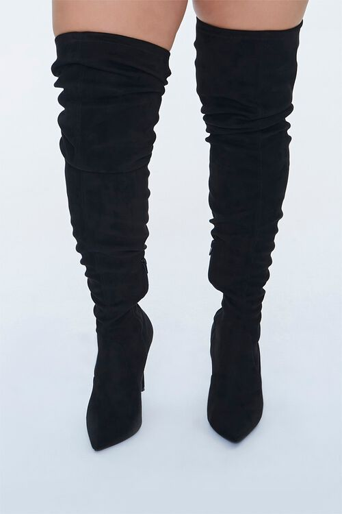 Over-the-Knee Stiletto Boots (Wide), image 4