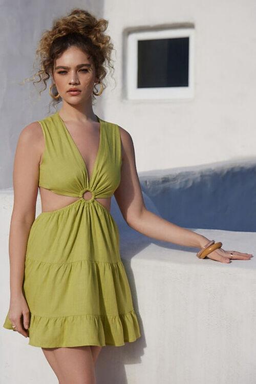 Cutout O-Ring Mini Dress, image 1