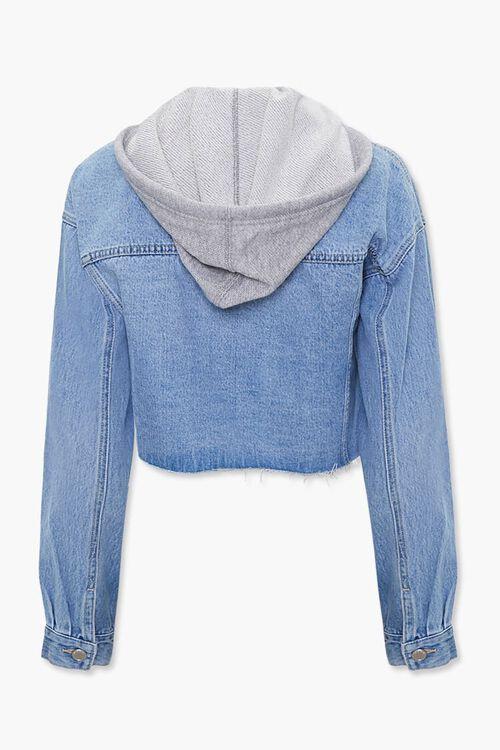 Denim Hooded Jacket, image 3