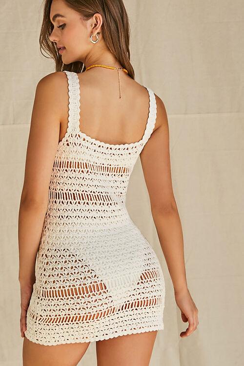 Crochet Swim Cover-Up Dress, image 3