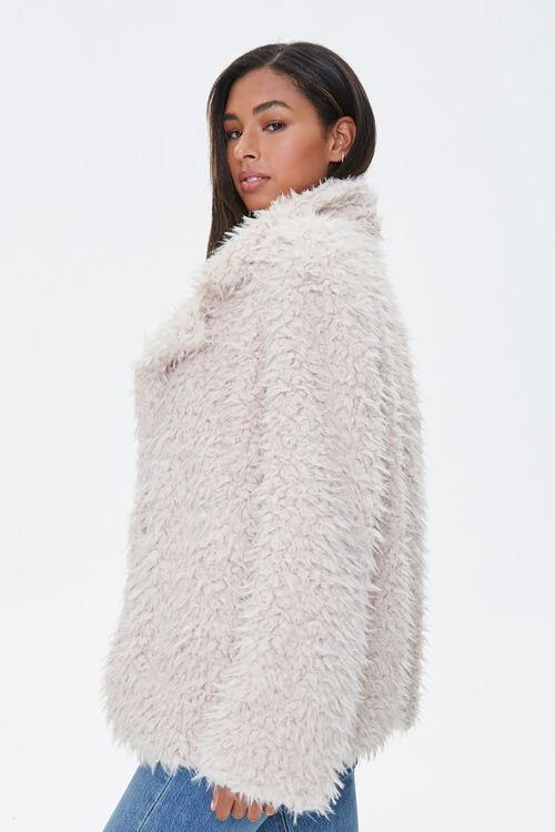 Shaggy Faux Fur Coat, image 2