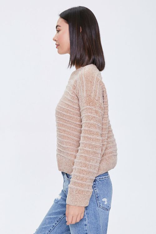 Chenille Ribbed Sweater, image 3