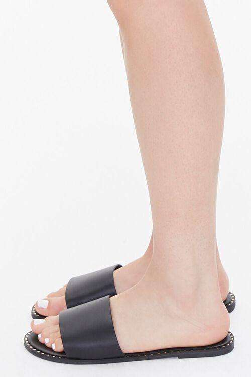 Studded Slip-On Sandals, image 2