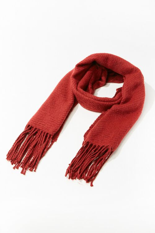 Ribbed Oblong Scarf, image 2