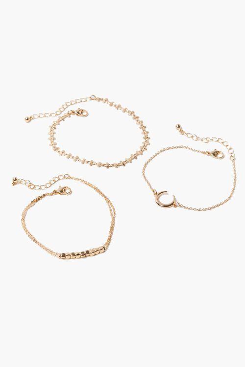 Beaded Chain Bracelet Set, image 2