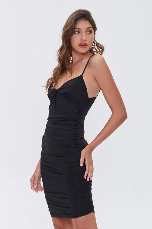 Ruched Mini Cami Dress, image 2