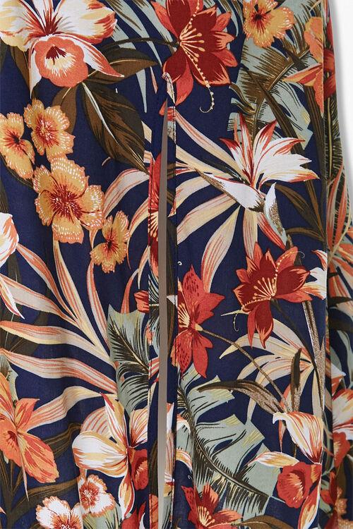 Plus Size Tropical Print Dress, image 4