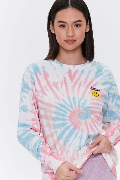 Too Close Graphic Tie-Dye Tee, image 1