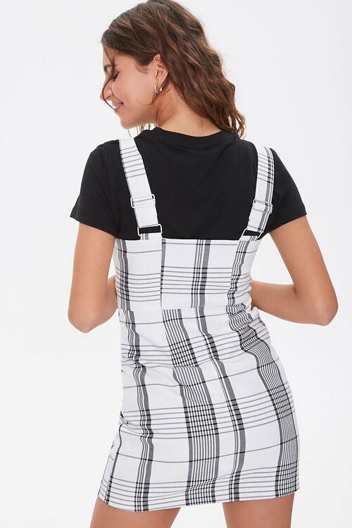 Plaid Pinafore Dress, image 3