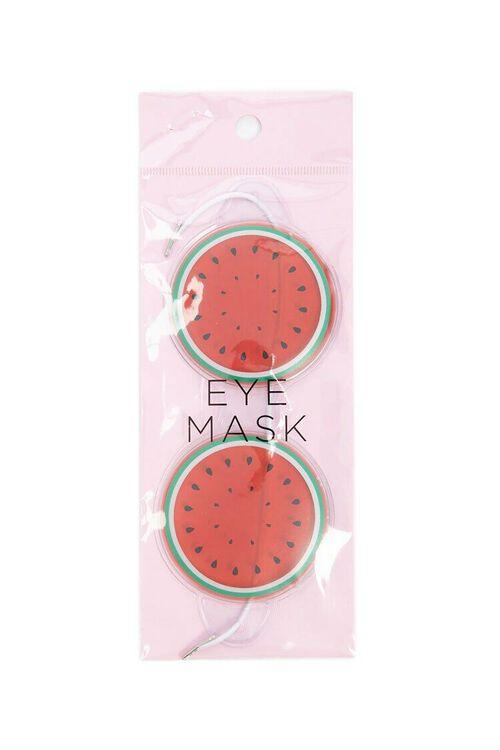 RED/MULTI Watermelon Eye Mask, image 2