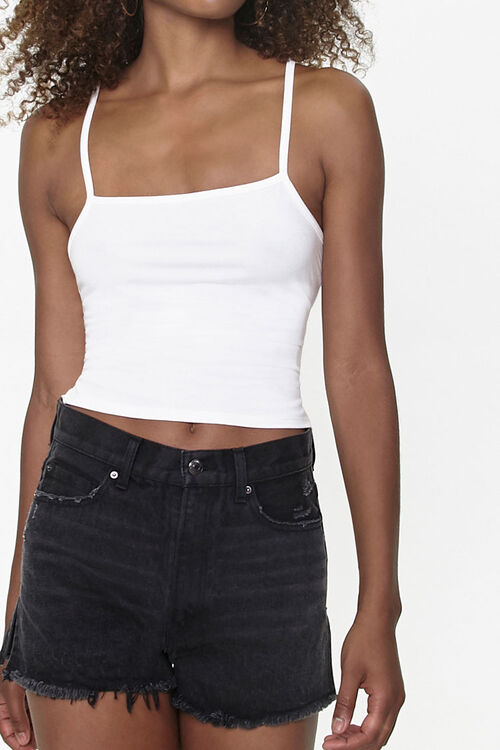 Self-Tie Lace-Up Cami, image 1