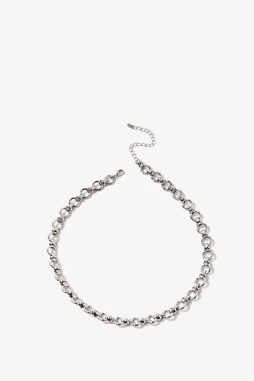 Chunky Rolo Chain Necklace, image 1