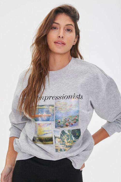 The Impressionists Graphic Fleece Hoodie, image 1