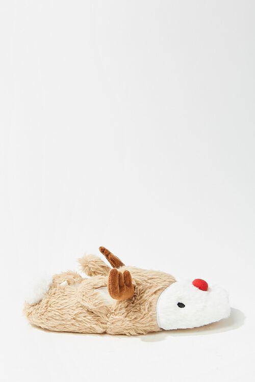 Plush Reindeer Slippers, image 2