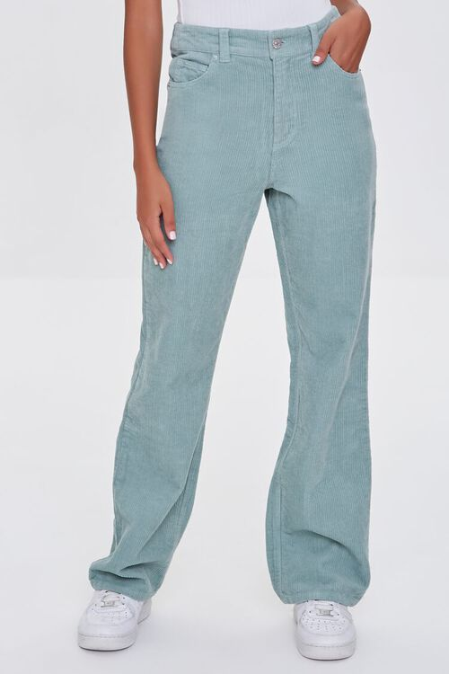 SAGE Ribbed Relaxed Pants, image 2