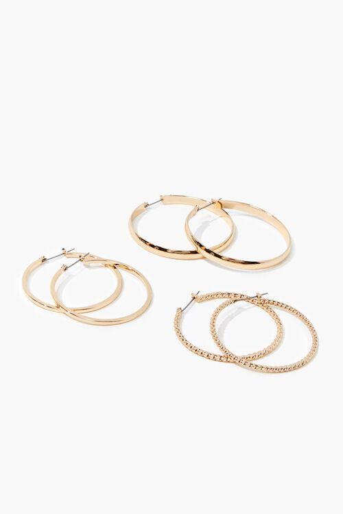 High-Polish Hoop Earring Set, image 1
