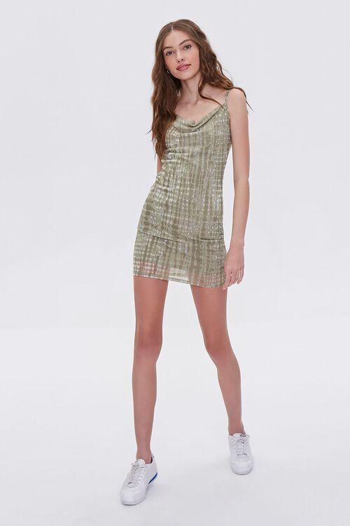 Abstract Print Cami Mini Dress, image 5