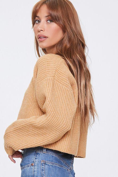 Cropped Cardigan Sweater, image 2