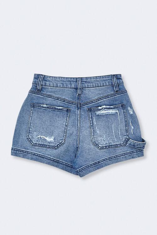 Mid-Rise Denim Shorts, image 2