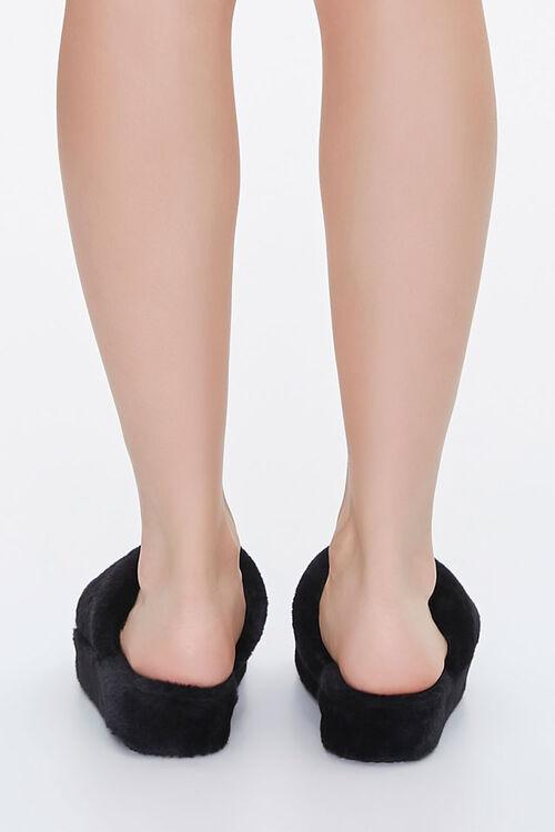 Faux Fur Platform Slippers, image 3