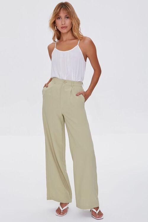 Wide-Leg High-Rise Pants, image 1