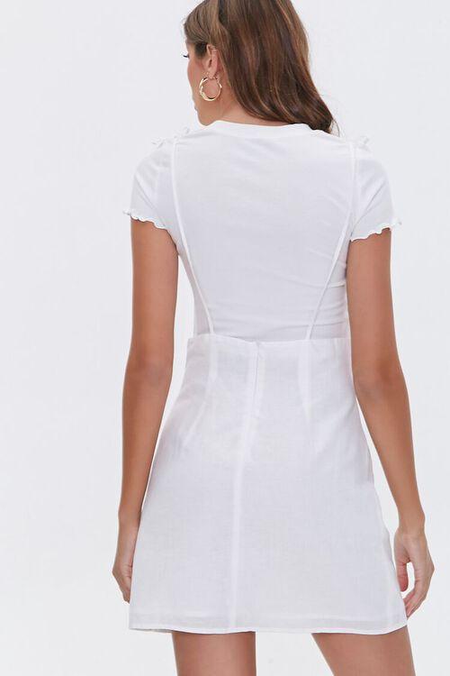 Linen-Blend Cami Dress, image 4