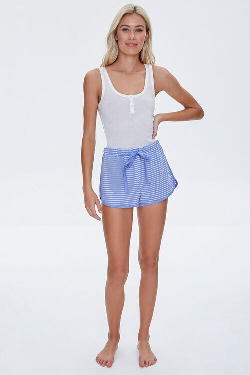 Striped Dolphin Lounge Shorts, image 5