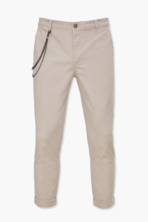 Slim-Fit Wallet Chain Pants, image 1