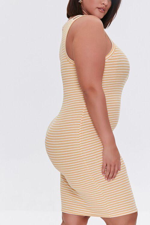 Plus Size Striped Mini Dress, image 2