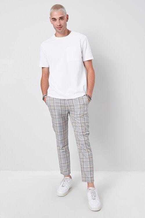 Plaid Print Pants, image 4