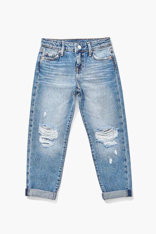 Girls Distressed Jeans (Kids), image 3