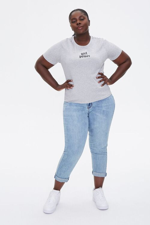 Plus Size Girl Power Graphic Tee, image 4