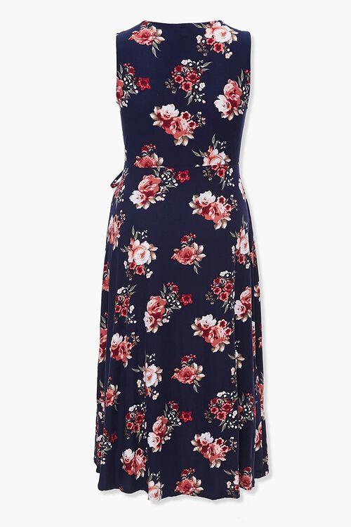 Plus Size Floral Tulip-Hem Dress, image 3