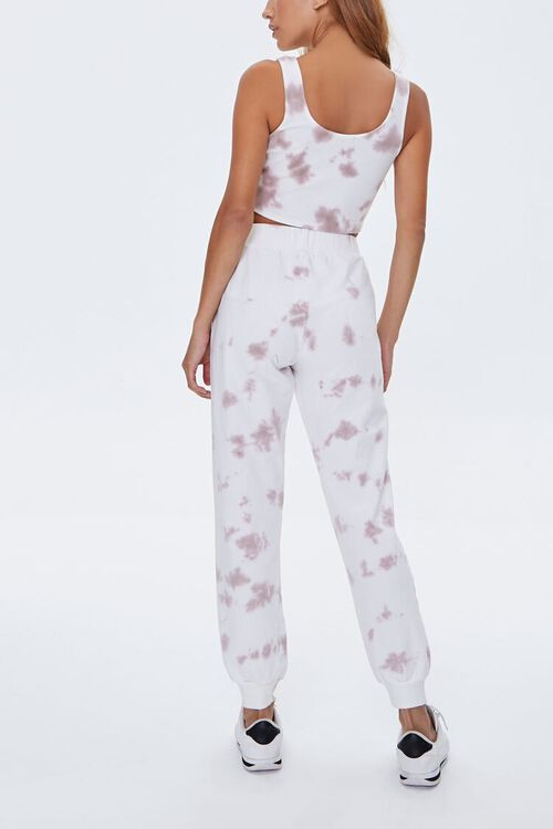 Bleached Wash Tank Top & Joggers Set, image 3