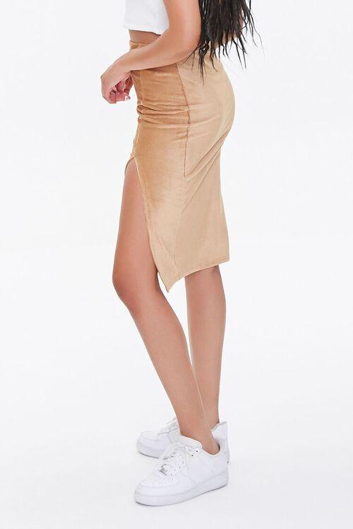 Leg-Slit Pencil Skirt, image 3