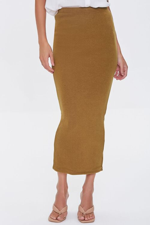 Pencil Midi Skirt, image 2