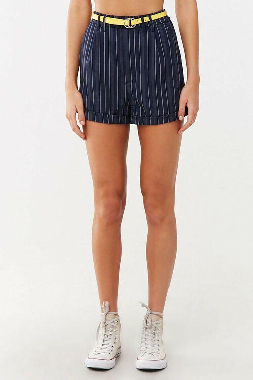 Striped Print Shorts, image 2