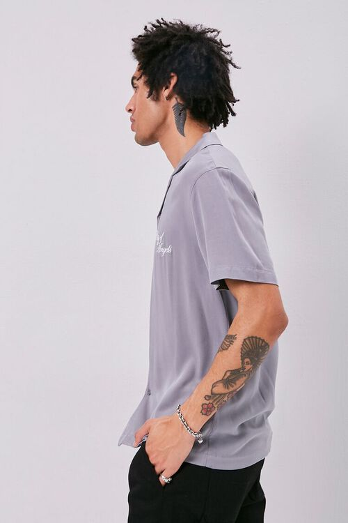 Classic Fit Embroidered Shirt, image 2