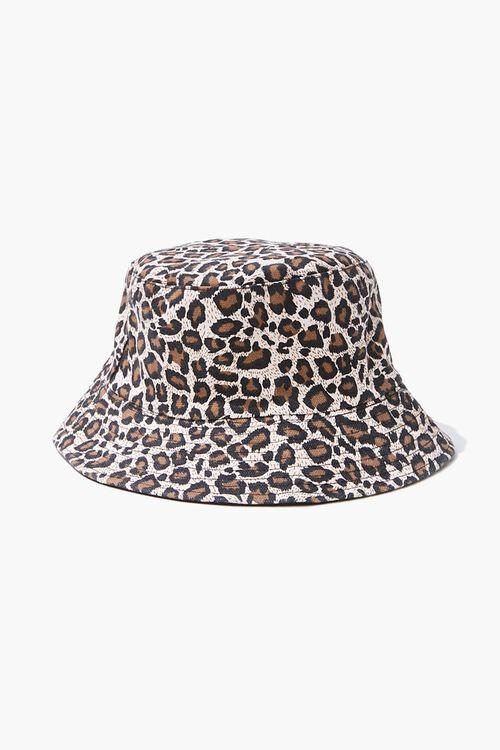 Leopard Print Bucket Hat, image 2