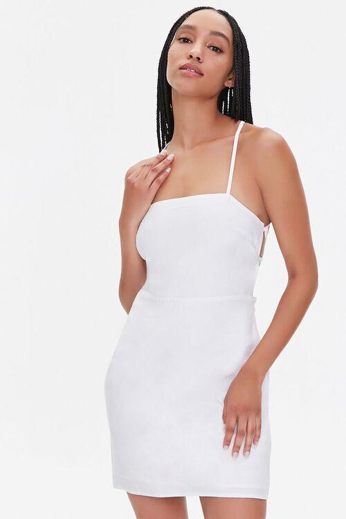 Crisscross Mini Dress, image 1