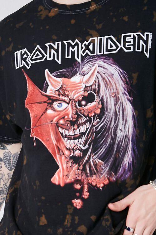Iron Maiden Graphic Bleach Wash Tee, image 5