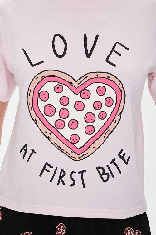 Love Pizza Graphic PJ Set, image 4