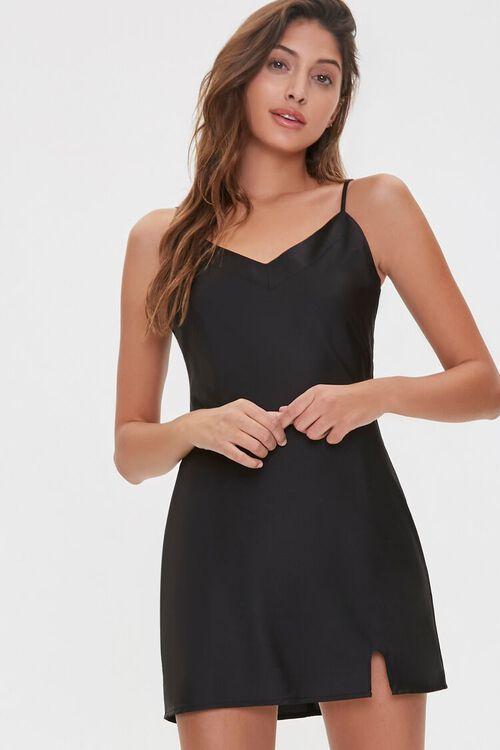 Satin Slip Dress, image 1