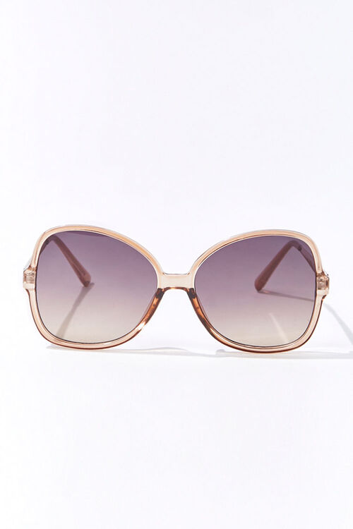 Tinted Square Sunglasses, image 1