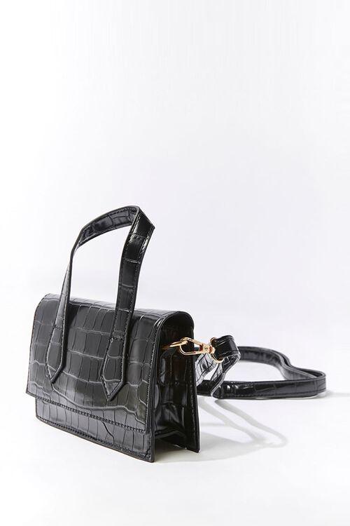 Faux Croc Crossbody Bag, image 2