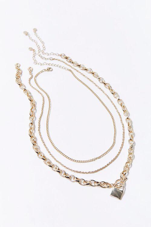 Upcycled Lock Necklace Set, image 2