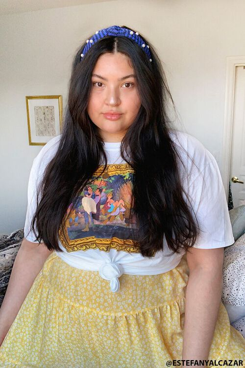 Plus Size Snow White Graphic Tee, image 1
