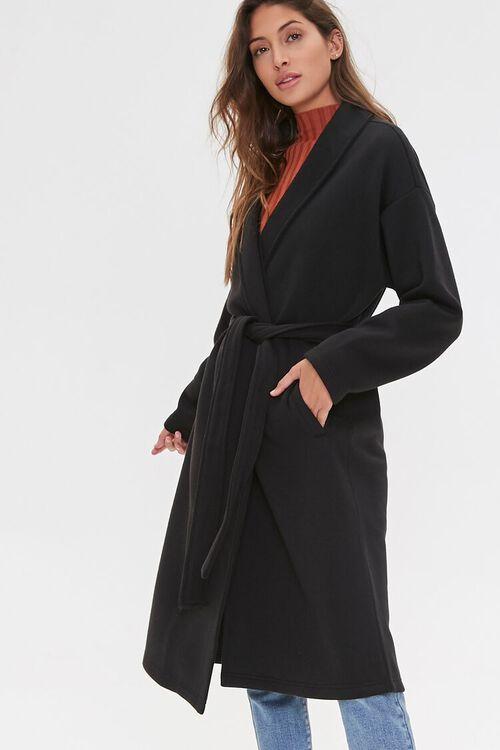 Fleece Wrap Jacket, image 1
