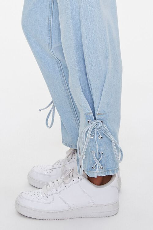 Lace-Up Mom Jeans, image 5