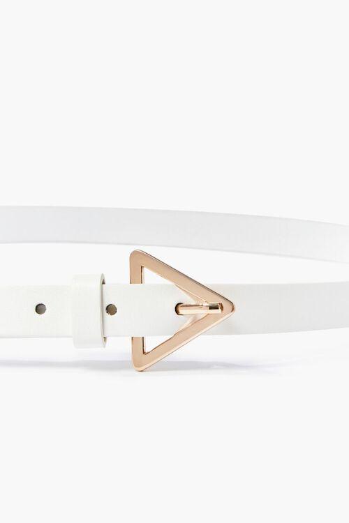Triangle Buckle Skinny Hip Belt, image 3